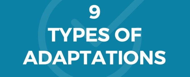 9 TYPES OF ADAPTATIONS