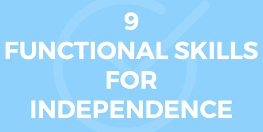 9 Functional Skills in Special Ed